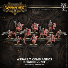 Khador Assault Kommandos (10)
